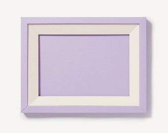 Soft Lilac A4 paper picture frame