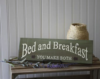 Bed and Breakfast Sign Rustic Bed and breakfast Sign Rustic Sign Bed and Breakfast Western Bed and Breakfast Primative Sign