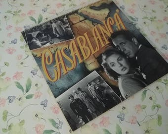 1997 Casablanca Humphrey Bogart Ingrid Bergman 16-Month Wall Calendar