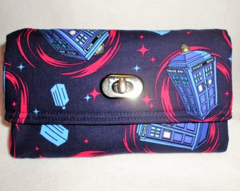 Doctor Who Tardis Police Box Wristlet Wallet, Dr Who Wallet, Dr Who Wristlet, Doctor Who Gifts, Tardis Wallet, Tardis Wristlet, Doctor Who
