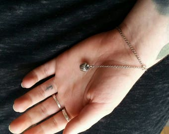 Simple pumpkin bracelet