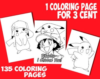 Pokemon Go printable coloring pages   -  Pokemon Go coloring pages printable - Pokemon colouring - Pokemon Go - Prints - Prints Digital