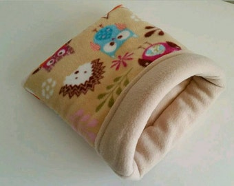 Guinea PIG bed snuggle sack cosy hedgehog