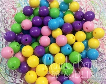 12mm 100pc. Solid Bead Mix Kit