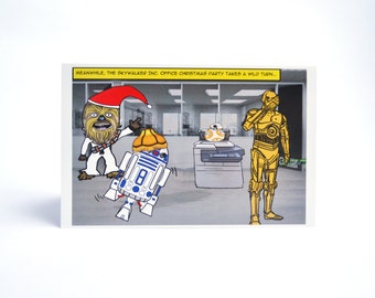 Star Wars Office Party