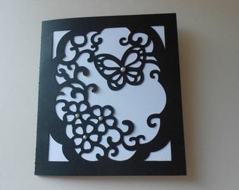 Cut card * butterfly *.