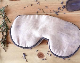 Lavender Sleep Mask, Organic Sleep Mask, Gift for Wife, New Mom Gift, Girlfriend Gift, Travel Gift