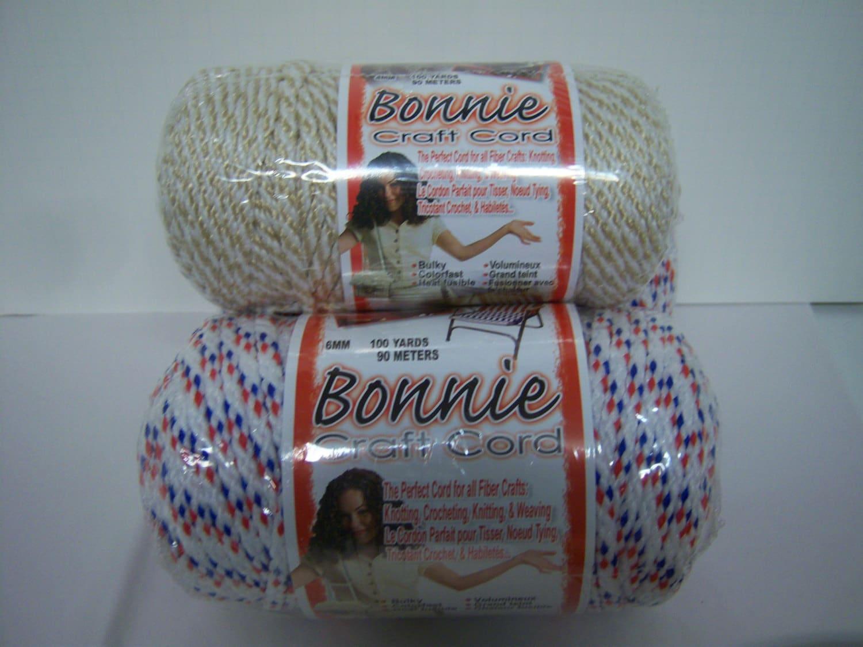 Bonnie craft cord 6mm -  20 00