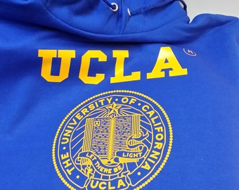 Ucla  Bruins Hoodie College Sweatshirt Royal Blue