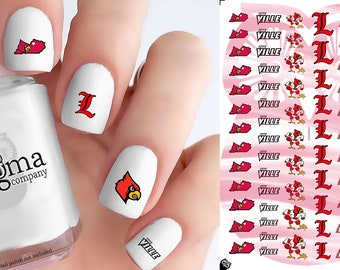 Louisville Cardinals Nail Decals (Set of 53)