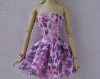 Handmade dress for Barbie Fashionistas dolls