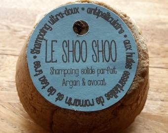 "The ""Shoo shoo"", perfect solid shampoo"