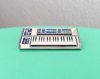 Synth Keyboard Enamel Pin - 4th Edition
