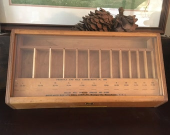 Montague Rod and Reel Company Counter Top Display Case