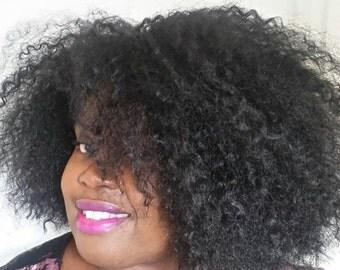 kinky Straight, Crochet Wigs, Ombre Wig, Kinky Curly Wig