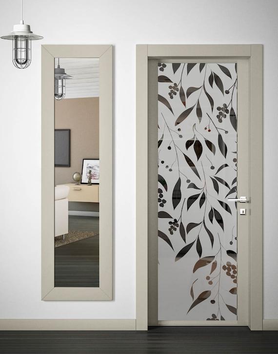Articoli simili a pellicole adesive decorative per vetro - Vetri doppi per finestre ...