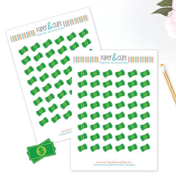Calendar Planner Reminder Stickers : Payday sticker sheet planner stickers reminder