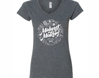 Midwest Makers Women's Tee