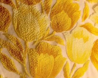 Pretty Golden Yellow Tulips
