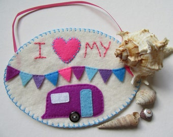 Caravan decor, camper wall decor, trailer decor, glamping decor, gifts for him, gifts for her, caravan lover gift, travel trailer decor