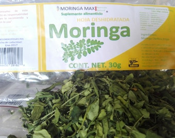 Moringa dried leaf