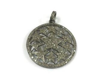 All Diamond Star Pendant