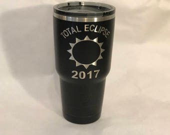 Total eclipse 30oz tumbler