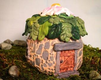 Stone Cottage Fairy House