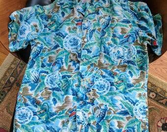South Pacific Fifties Rayon Hawaiian Shirt 1950's