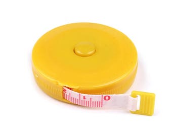 Measuring tape tape measure 150 cm yellow