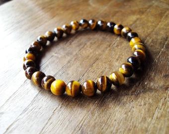 6mm Tiger eye bracelets
