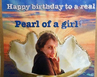 Pearl of a Girl (Birthday)