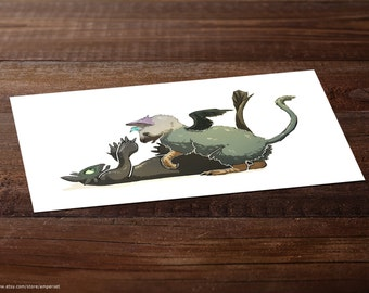 Trico & Toothless
