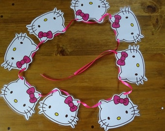 Hello Kitty Bunting/Garland