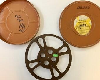16mm Film Reel & Tin - 10 Inch