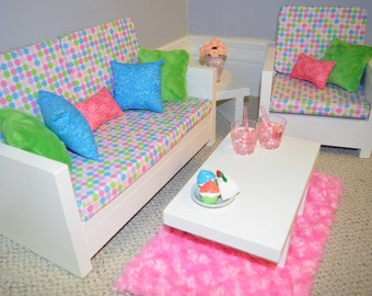 "American Girl and other 18"" Doll Furniture. Living Rm. - Victoria Set"