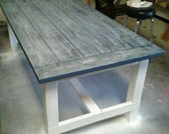 Custom Farmhouse / Picnic Table