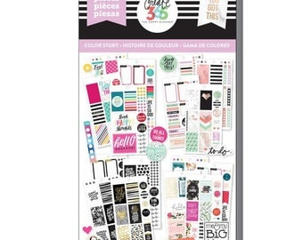 Create 365 the happy planner-Value Pack Stickers - Color Story - CLASSIC- 725 pcs