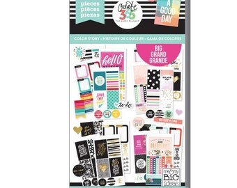 Create 365 the happy planner-Value Pack Stickers - Color Story - BIG-459 pcs