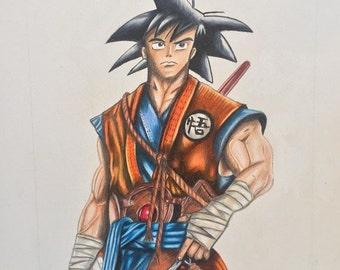 Goku (dragonballz) - original Picture
