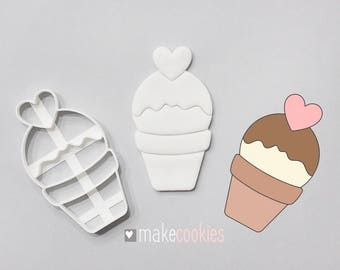 Ice Cream #4 Cookie Cutter