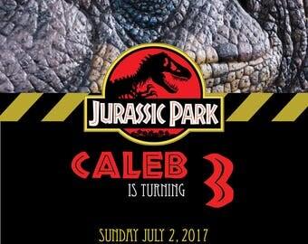 Jurassic park party Etsy