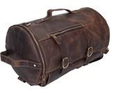 Handmade Leather Backpack Travel Backpack Holdall College Backpack Leather Rucksack  Laptop Backpack Weekender New Design