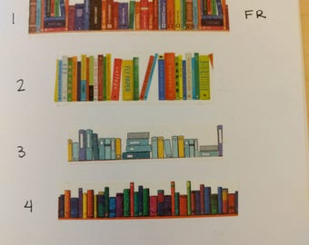 Books/Bookshelf washi tape sample 24 inches