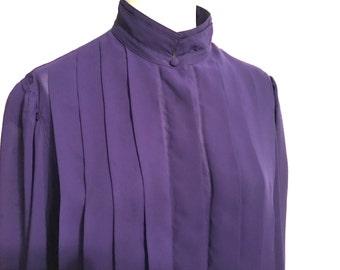 Nicola Purple Blouse