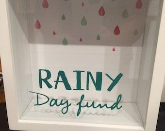 Rainy Day Fund Money Box frame