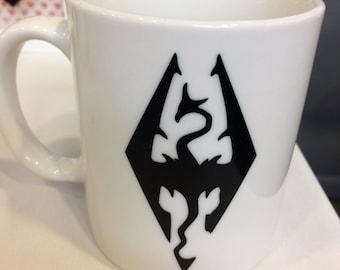 Skyrim inspired mug