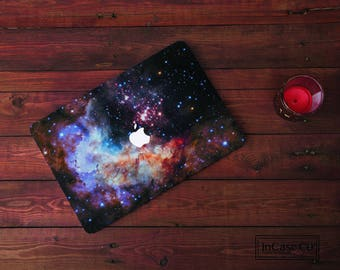 Space Stars Macbook Pro Hard Plastic Floral, Macbook Pro Retina and Non Retina Display, Macbook Air Hard Case,