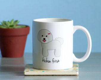 Bichon Frise Mug (girl)