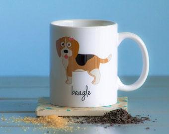 Beagle Mug (girl)